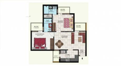 1075 sqft, 2 bhk Apartment in Builder Project Kharar, Mohali at Rs. 47.9000 Lacs