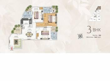 1541 sqft, 3 bhk Apartment in Kotecha Royal Tatvam Mansarovar Extension, Jaipur at Rs. 49.3120 Lacs
