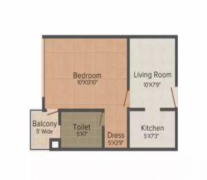 490 sqft, 1 rk Apartment in Logix Blossom Zest Sector 143, Noida at Rs. 23.0000 Lacs