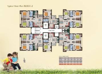 913 sqft, 3 bhk Apartment in Magnolia Fantasia Phase I Barasat, Kolkata at Rs. 21.9120 Lacs