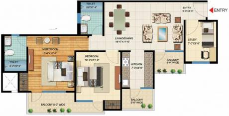 1190 sqft, 3 bhk Apartment in VVIP Homes Sector 16C Noida Extension, Greater Noida at Rs. 38.7000 Lacs