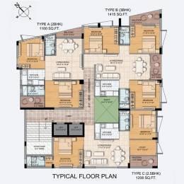 1208 sqft, 3 bhk Apartment in Sweet Signature Rajarhat, Kolkata at Rs. 48.3200 Lacs