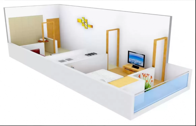 Neelkanth Site 1 (1BHK+1T (450 sq ft) Apartment 450 sq ft)