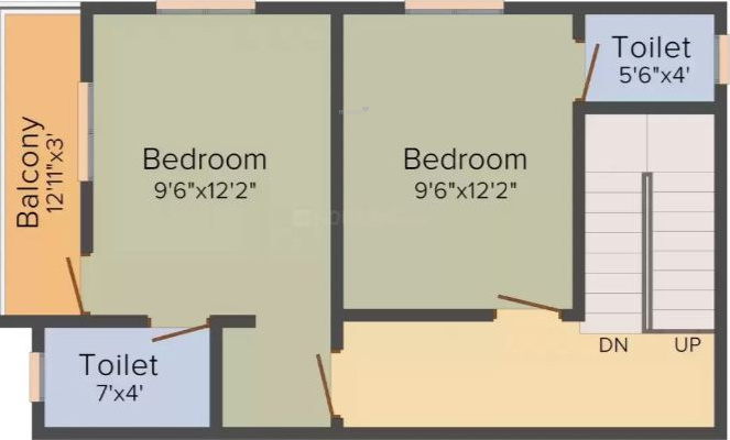 Premier Fortune Residency (2BHK+2T (1,013 sq ft) Apartment 1013 sq ft)