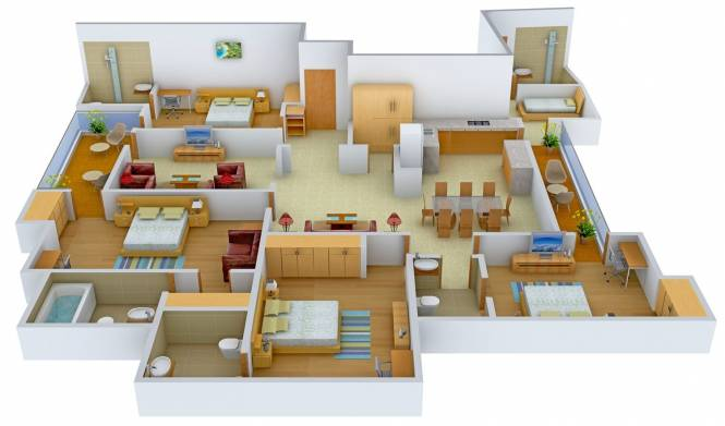 Sehgal K 3 39 DLF Phase 2 (4BHK+5T (2,700 sq ft) Apartment 2700 sq ft)