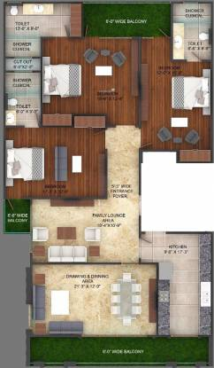 JS Independent Builder Floor (3BHK+3T (1,800 sq ft) Apartment 1800 sq ft)