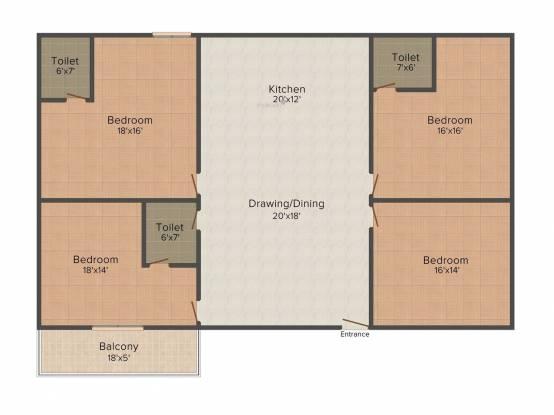 Maya Buildcon Maya Ultimo (4BHK+4T (1,875 sq ft) Apartment 1875 sq ft)