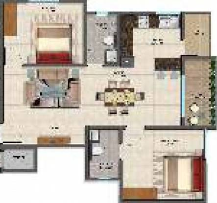 Sai Superia (2BHK+2T (918 sq ft) Apartment 918 sq ft)