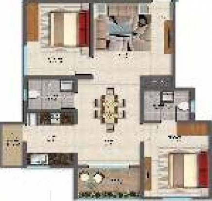 Sai Superia (2BHK+2T (923 sq ft) Apartment 923 sq ft)