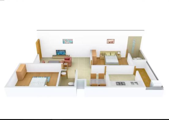 Shri Sai Homes 2 (2BHK+2T (675 sq ft) Villa 675 sq ft)