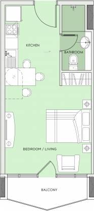 Seven Tides Seven City JLT (1BHK+1T (416 sq ft) Apartment 416 sq ft)