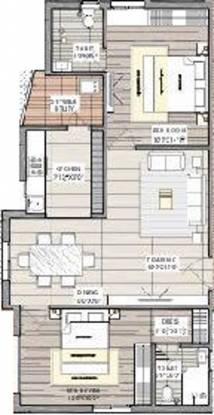 Nischal Shanti Nilaya (2BHK+2T (1,150 sq ft) Apartment 1150 sq ft)
