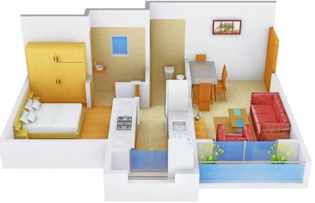 Sunirmiti Amrut Residency (1BHK+1T (600 sq ft) Apartment 600 sq ft)