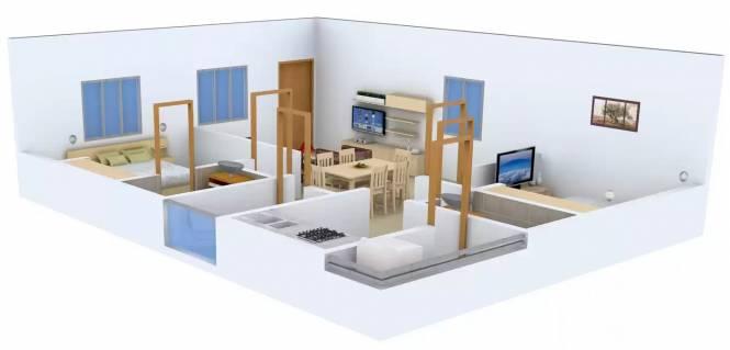Sai Samyuktha Eshwar Samyuktha Residency (2BHK+2T (1,003 sq ft) Apartment 1003 sq ft)