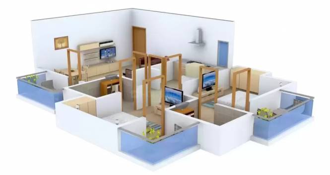 ATFL Defence County (2BHK+2T (1,150.00  sq ft) Apartment 1100 sq ft)