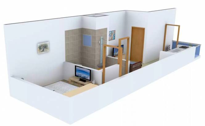 Kapil Homes (1BHK+1T (450 sq ft) Apartment 450 sq ft)