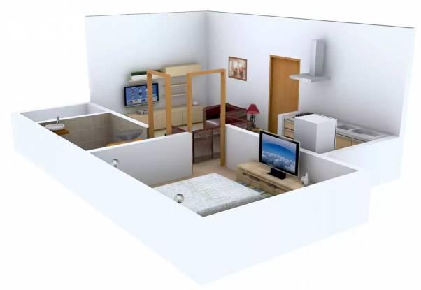 Kapil Homes (1BHK+1T (405 sq ft) Apartment 405 sq ft)