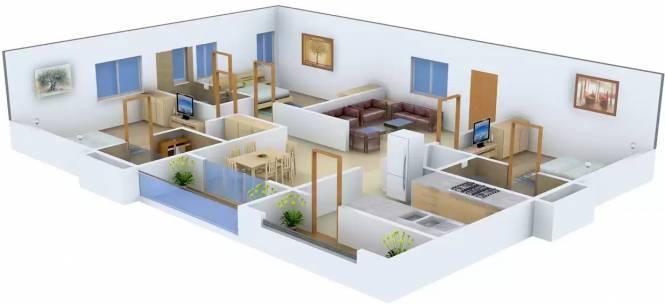 Sri Rams Kaveri (3BHK+3T (2,900 sq ft) Apartment 2900 sq ft)