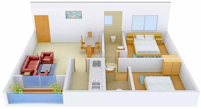 RDB Regent Court II (2BHK+2T (920 sq ft) Apartment 920 sq ft)