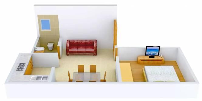 PMR Sree Sai (1BHK+1T (491 sq ft) Apartment 491 sq ft)