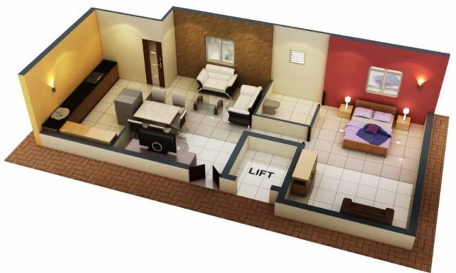 Avittam Alwar (1BHK+1T (571 sq ft) Apartment 571 sq ft)