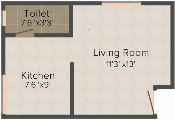 Shree Sai Heritage (1RK+1T (340 sq ft) Apartment 340 sq ft)