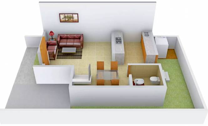 Aatmiya Sanskar Darshan (2BHK+3T (1,072 sq ft) Villa 1072 sq ft)