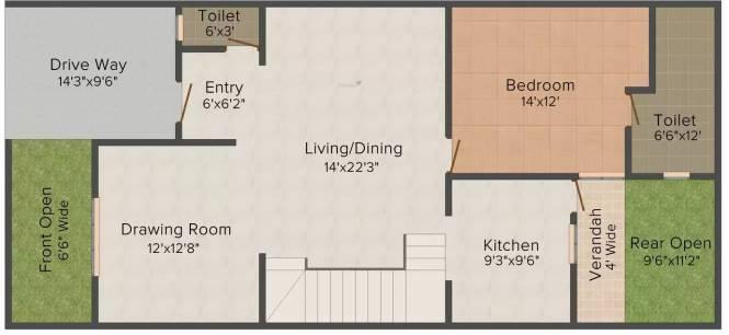 Relpro Alfa City (4BHK+4T (2,350 sq ft) Apartment 2350 sq ft)
