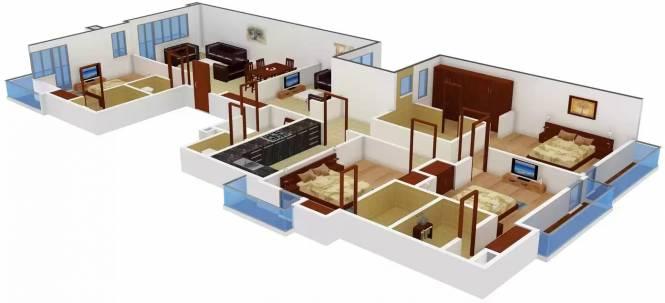 Home A 12 (4BHK+5T (4,500 sq ft) + Servant Room Apartment 4500 sq ft)