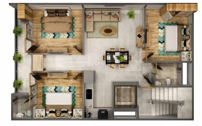 Guru Ji Welfare (3BHK+3T (1,000 sq ft) Apartment 1000 sq ft)