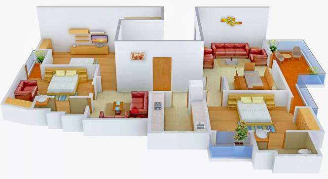 Orbit Floors CR Park (3BHK+3T (1,800 sq ft) Apartment 1800 sq ft)