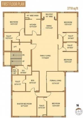 Siddha Lovelock (5BHK+5T (3,710 sq ft)   Servant Room Apartment 3710 sq ft)