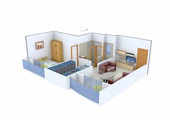 SD Prity Park (1BHK+1T (620 sq ft) Apartment 620 sq ft)