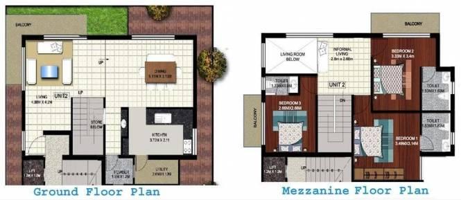 Ittina Tattva Saras (3BHK+3T (1,490 sq ft) Apartment 1490 sq ft)