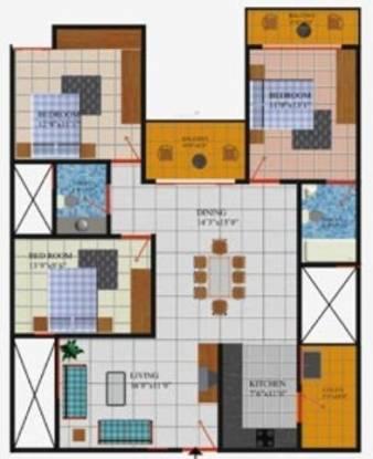 Vanshee Solitaire (3BHK+3T (1,720 sq ft) Apartment 1720 sq ft)