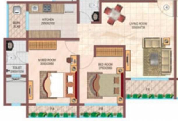 Srishti Oasis (2BHK+2T (780 sq ft) Apartment 780 sq ft)