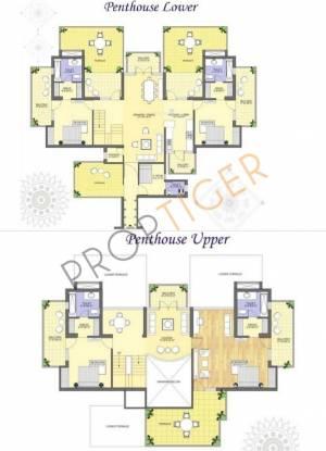 K World Royal Court K World Royal Court (4BHK+5T + Servant Room)