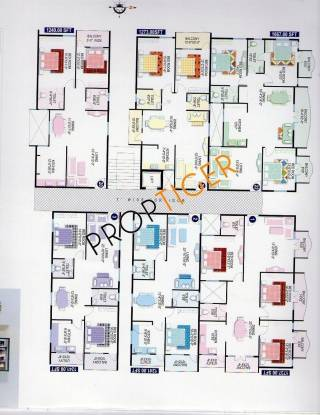 PVR Developers Ashoka Windows and Annexe Ashoka Ashoka Windows and Annexe (2BHK+2T)