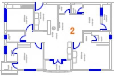 Shree Suha (3BHK+3T (1,849 sq ft) Apartment 1849 sq ft)