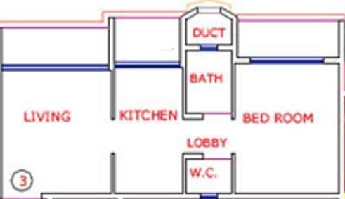Kavya Rachna CHS (1BHK+1T (640 sq ft) Apartment 640 sq ft)