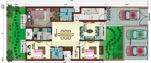 Ansal Victoria Floors (3BHK+3T (1,395 sq ft) Apartment 1395 sq ft)