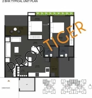 Nila Atuulyam (2BHK+2T (1,305 sq ft) Apartment 1305 sq ft)
