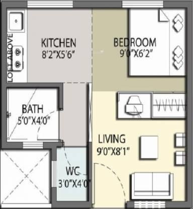 TATA Shubh Griha (1RK+1T (283 sq ft) Apartment 283 sq ft)