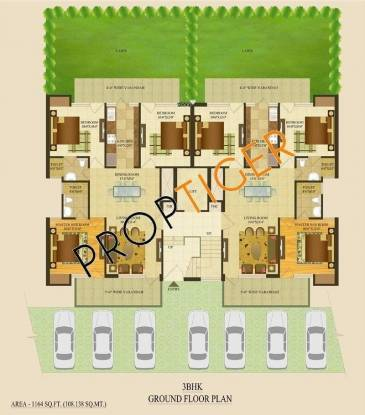 TDI TDI Tuscan City (3BHK+3T (1,390 sq ft) Apartment 1390 sq ft)