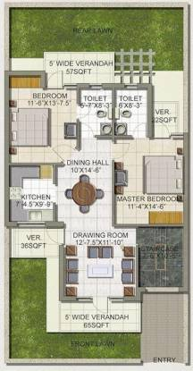 SS The Lilac (2BHK+2T (1,100 sq ft) Apartment 1100 sq ft)