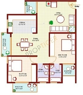 Vanshee Rich Fields (2BHK+2T (1,150 sq ft) Apartment 1150 sq ft)