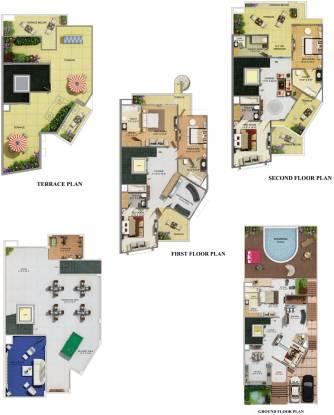 Supertech Ritz Chateaux (6BHK+7T (3,304 sq ft) + Servant Room Villa 3304 sq ft)