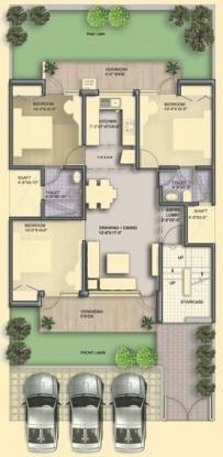 BPTP Parklands Pride (3BHK+2T (1,050 sq ft) Apartment 1050 sq ft)