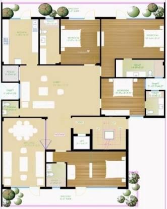 Real Sushant Lok II (4BHK+4T (4,500 sq ft) Apartment 4500 sq ft)