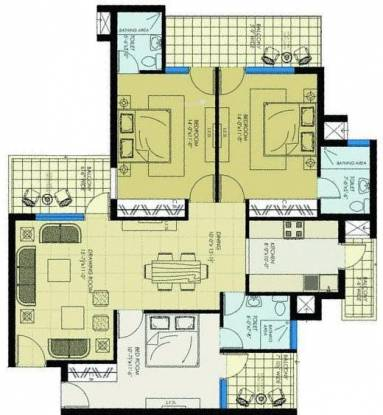 NH Aero Homes (3BHK+3T (1,760 sq ft) Apartment 1760 sq ft)